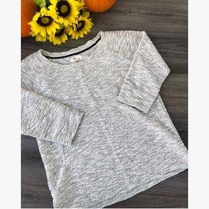 LOU&GREY gray women's sweater small